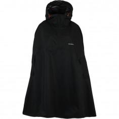 Tenson Drizzle rain poncho, unizex, black