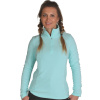 4F Thora Microtherm womens fleece midlayer, black