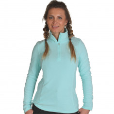 4F Thora Microtherm womens fleece midlayer, mint