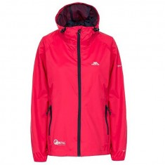Trespass Qikpac, raspberry, female rainjacket