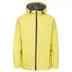 Trespass Qikpac unisex rainjacket, yellow