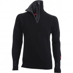 Ulvang Rav sweater w/zip, mens, black