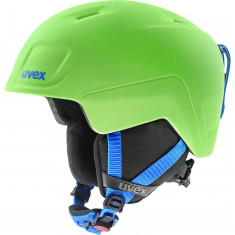 Uvex Heyya Pro, ski helmet, junior, green/blue