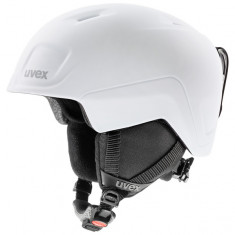 Uvex Heyya Pro, ski helmet, junior, white/black
