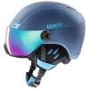 Uvex hlmt 400 visor, white mat