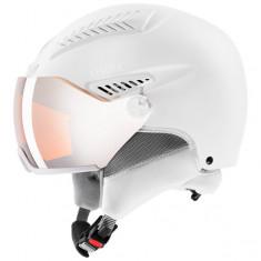 Uvex hlmt 600 ski helmet with visor, white