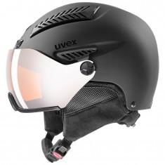 Uvex hlmt 600 visor, black mat