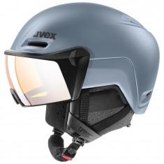 Uvex hlmt 700 visor, blue