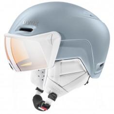 Uvex hlmt 700 visor, dust blue