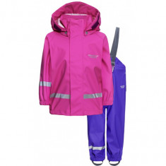 Weather Report Wau Minis Rain Suit, pink