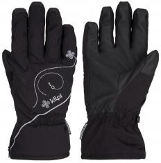 Kilpi Bernina womens ski gloves, black