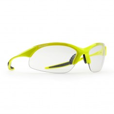 Demon 832 Photochromatic sunglasses, neon yellow/smoke